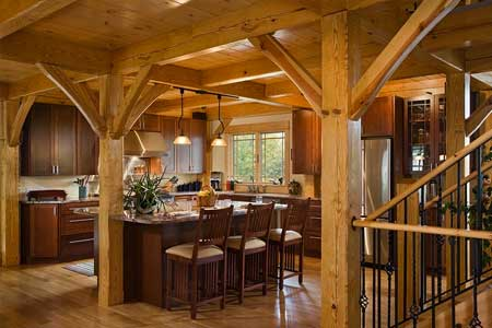 Timber Frame Home Builder Contractor